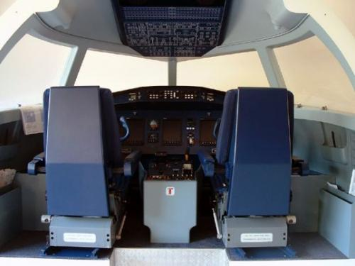 Cockpit-Simulation